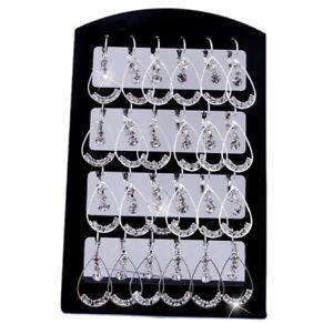 Free-Earrings-Czech-rinestone-12pair-display-wholesale