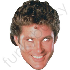 David-Hasselhoff-1980-039-s-Celebrity-Card-Mask-All-Our-Masks-Are-Pre-Cut