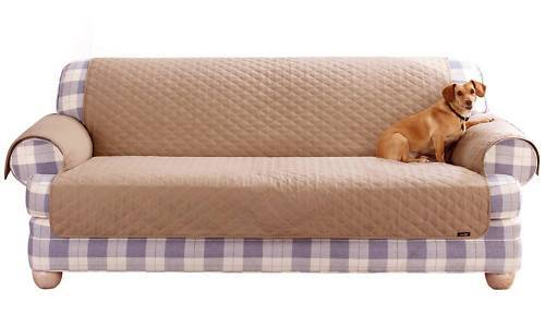 SURE FIT PET DOG SLIP COVER SOFA CHAIR LOVESEAT PROTECT