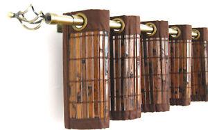 Bamboo window valance 72 wide x 12 long ebay for 12 x 72 window