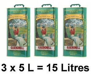 15-Litres-dhuile-dolive-Carbonell-bidon-vert-origine-espagne-objets-neufs