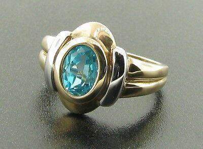 9ct Blue Topaz Ring £175
