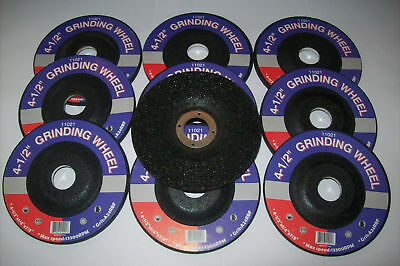 "10 4-1/2"" GRINDING WHEELS FIT DEWALT 4.5"" ANGLE GRINDER on Rummage"