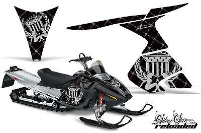 Amr Snowmobile Ski Doo Rt Sled Graphics Wrap Kit Reload