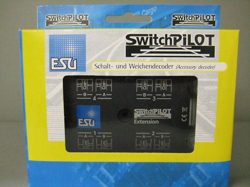 ESU 51820 SwitchPilot 4-fach Magnetartikeldekoder / Nachfolge von 51800 / Neu&OV