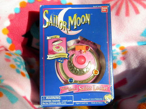 1990s Music Toys : Vintage s sailor moon serena musical locket