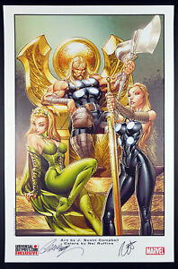 J-SCOTT-CAMPBELL-SIGNED-ULTIMATE-THOR-1-LBCC-LIMITED-EDITION-PRINT-SOLD-OUT