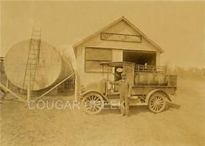 STANDARD-OIL-RED-CROWN-GAS-DELIVERY-TRUCK-STATION-PHOTO