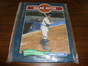 Babe-Ruth-Baseball-Legends-Book-Hard-Cover-1991