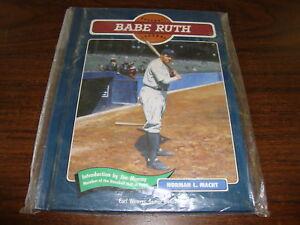 Babe-Ruth-Baseball-Legends-Book-Hard-Cover-1991
