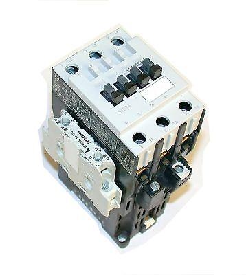 3 Siemens Motor Starters 32 Amp Model 3tf34110bb4