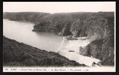 Sark. LL / Levy # 18. General View of Dixcart Bay.