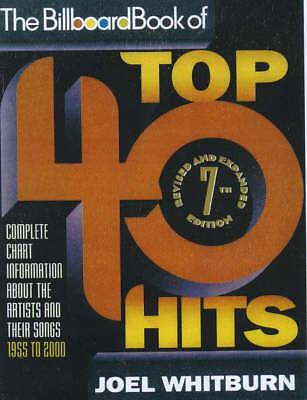 The Billboard Book of Top 40 Hits by Joel Whitburn