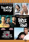 Boyz N The Hood/Baby Boy/Poetic Justice - Box Set (DVD, 2005, 3-Disc Set)