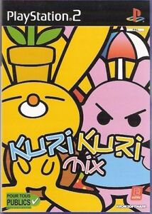 Kuri-Kuri-MIX-Playstation-2-Rare-Video-Game-for-PS2-NEW-and-Sealed