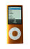 MP3 and Digital Media Player: Apple iPod nano 4th Generation chromatic Orange (8 GB) 8 GB (Built-in Memory), 2000 Songs, 1.3 oz., Displ...