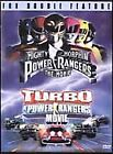 Mighty Morphin Power Rangers: The Movie/Turbo: A Power Rangers Movie (DVD, 2001, Sensormatic Double Feature)