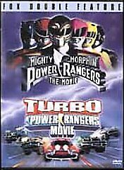 Fox Double Feature Mighty Morphin Power Rangers The Movie/Turbo Power Rangers Mo