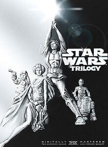 Star-Wars-Trilogy-DVD-2004-4-Disc-Set-Widescreen-DVD-2004