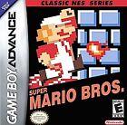 Super Mario Bros. Classic NES Series (Nintendo Game Boy Advance, 2004)