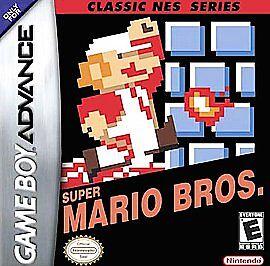 Super Mario Bros. Classic NES Series (Nintendo Game Boy Advance) Cartridge only