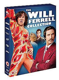 Will Ferrell Collection (DVD, 2009, 6-Disc Set, Box Set)