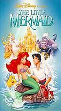 The Little Mermaid VHS, 1990