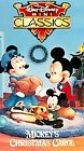 Walt Disney Mini Classics - Mickeys Christmas Carol (VHS, 1994)
