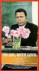 To Sir, With Love (VHS, 1998) - Sidney Poitier - brand new and sealed