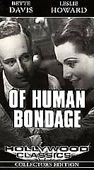 Of-Human-Bondage-VHS-1994-Very-Fine-Condition