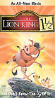 The Lion King 1 1/2 (VHS, 2004)