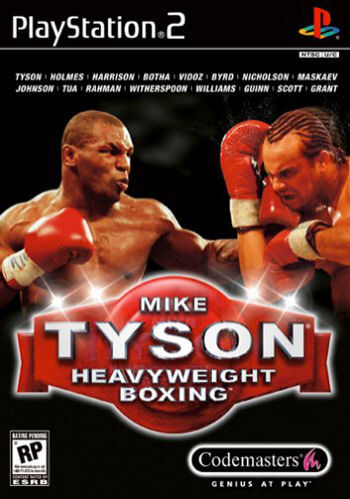 Mike Tyson Heavyweight Boxing (Sony PlayStation 2, 2002) ps2 game