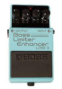 Boss LMB-3 Bass Limiter / Enhancer Pedal Bass Limiter and Enhancer Pedal