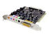 Sound Card: Creative Technology Sound Blaster Live! 5.1 Plug-In Card, 5.1 Channel Surround, PCI interface,...