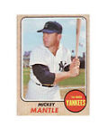 Mickey Mantle Piece of Authentic Baseball Cards