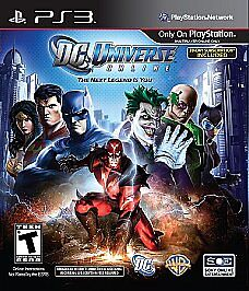 BRAND NEW & SEALED PS3 DC Universe Online FREE SHIPPING