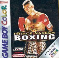 Boxing Nintendo Boy Color Video Games