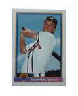 1991 Bowman Chipper Jones Atlanta Braves #569 Baseball Card