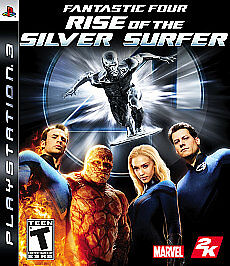 Fantastic Four: Rise of the Silver Surfer (Sony PlayStation 3, 2007)