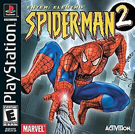 SPIDERMAN-2-ENTER-ELECTRO-PS1-PLAYSTATION-1-DISC-ONLY