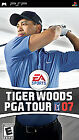 Tiger Woods PGA Tour 07  (PlayStation Portable, 2006) (2006)