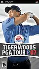 Tiger Woods PGA Tour 07 (Sony PSP, 2006) - European Version