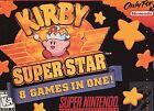 Kirby Super Star (Super Nintendo Entertainment System, 1996)