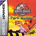 Jurassic Park III: Park Builder (Nintendo Game Boy Advance, 2001)
