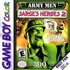 Army Men: Sarge's Heroes 2 (Nintendo Game Boy Color, 2000)