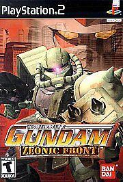 Mobile Suit Gundam: Zeonic Front (Sony PlayStation 2, 2002) -Complete