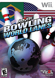 AMF-Bowling-World-Lanes-Wii-2008-NO-BOOKLET-6171029