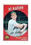 Topps Reprint Al Kaline Detroit Tigers Baseball Cards