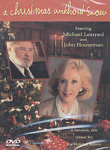 DVD-JOHN-HOUSEMAN-MICHAEL-LEARNED-Christmas-Without-Snow-2002