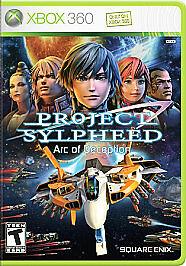 Project Sylpheed: Arc of Deception Microsoft Xbox 360, 2007 NEW Read Description